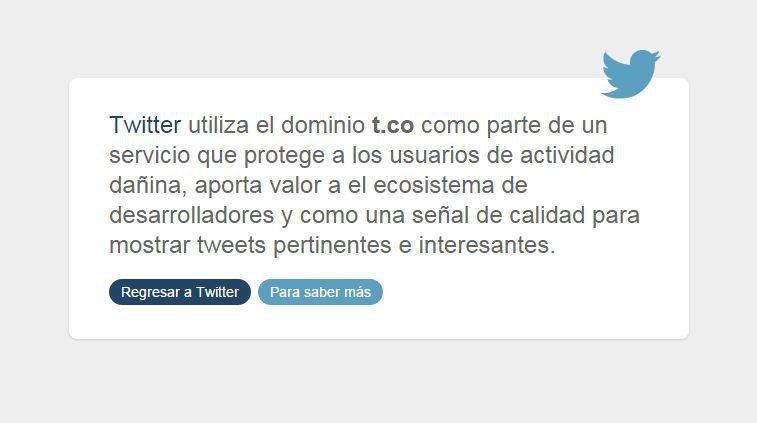 Twitter vuelve a permitir enviar urls mediante mensaje privado - imagen 2