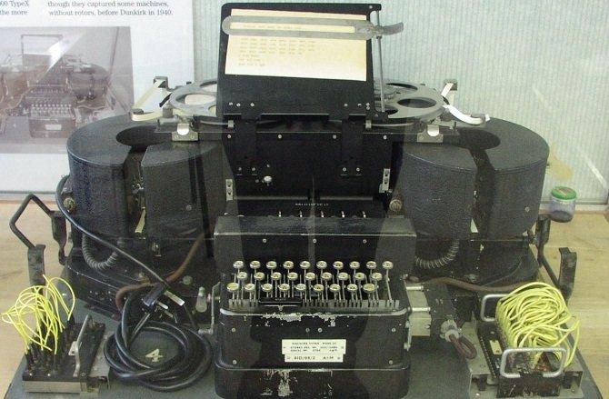 Typex, la máquina de cifrado de las fuerzas militares británicas