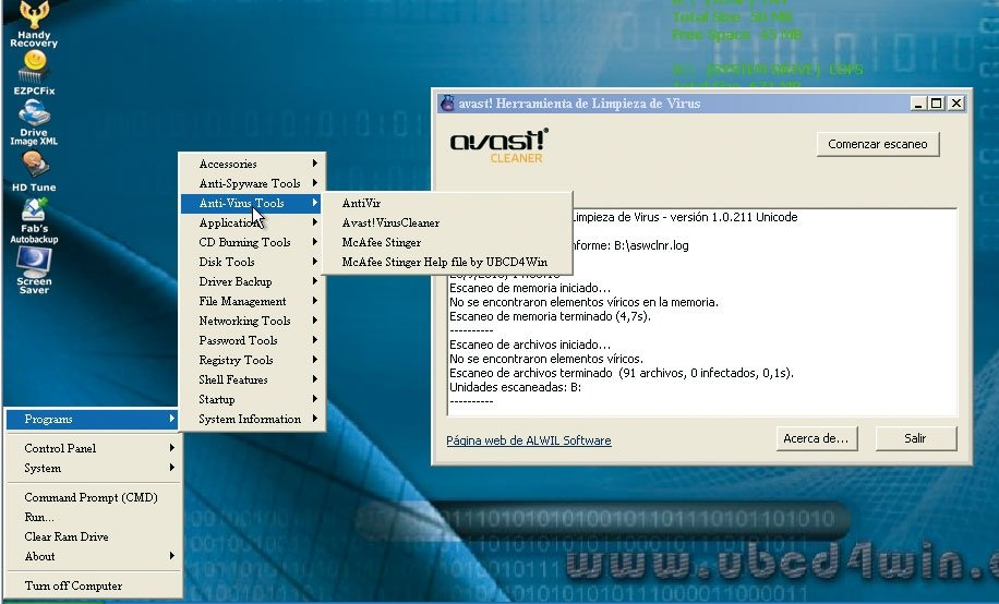 Ultimate Boot CD for Windows 3.60 detalle 8