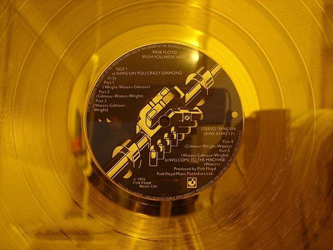 Un disco de oro o platino es algo que cada vez se verá menos