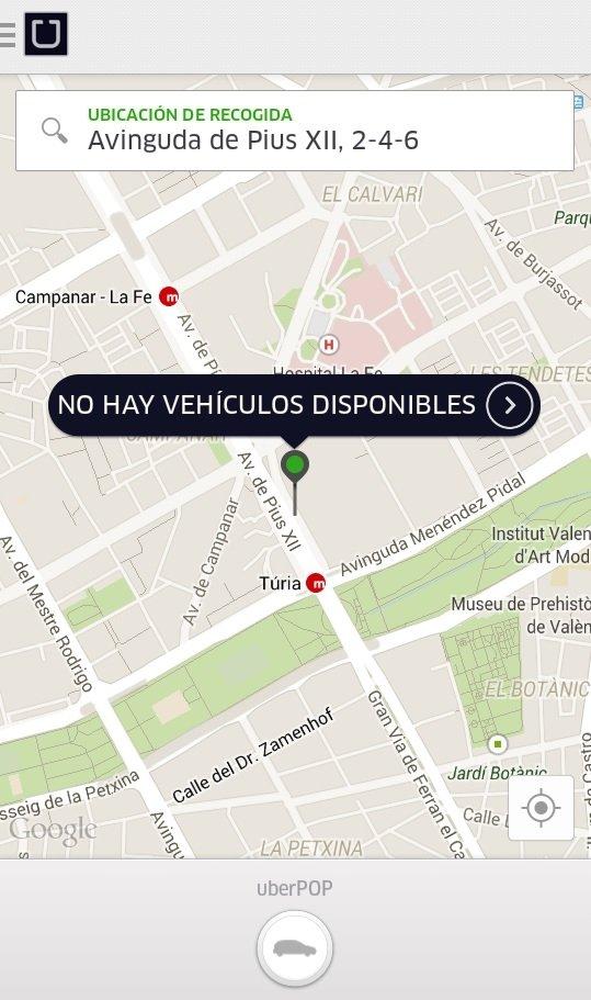 Un juez ordena el cese de actividad y prohibición de Uber