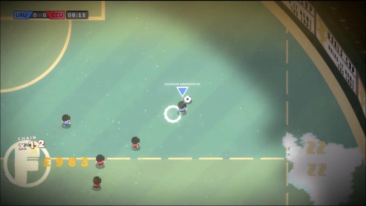 Un partido en Behold the Kickmen