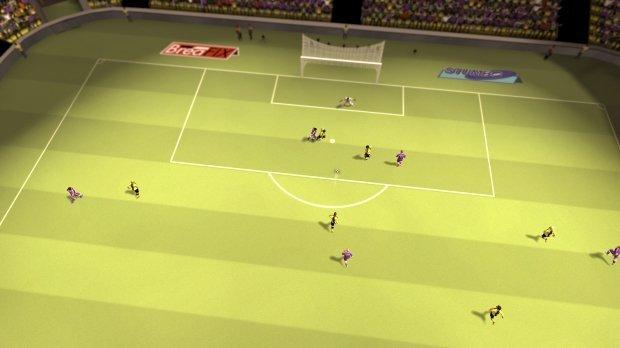 Un partido en Sociable Soccer