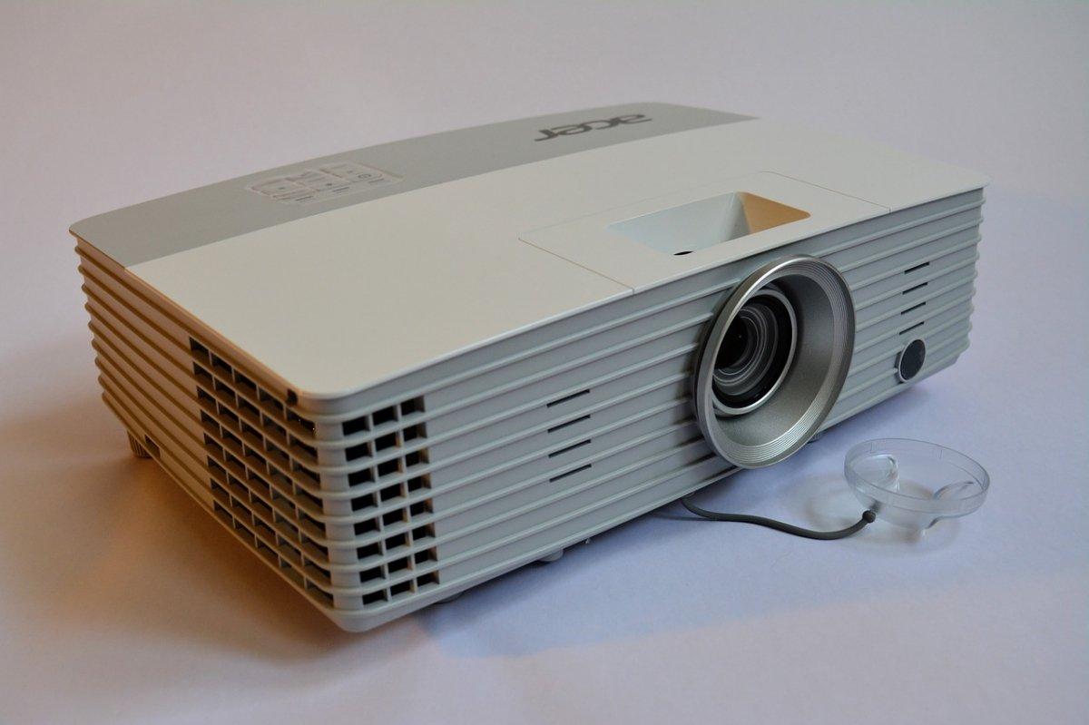 Un proyector estándar