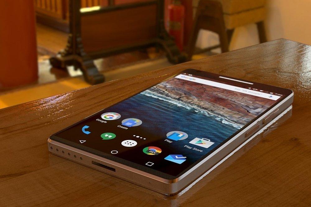 Un teléfono Sony con sistema operativo Android