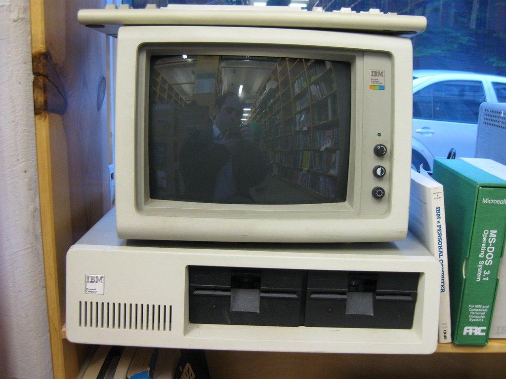 Un viejo IBM con el que se podría jugar en la época de juventud de Brian Wiles