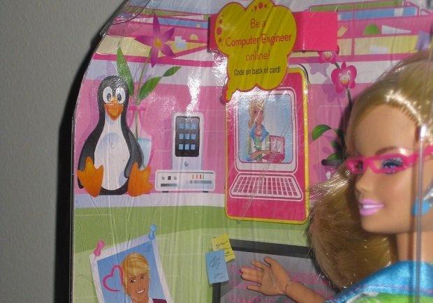 Una Barbie ingeniera informática