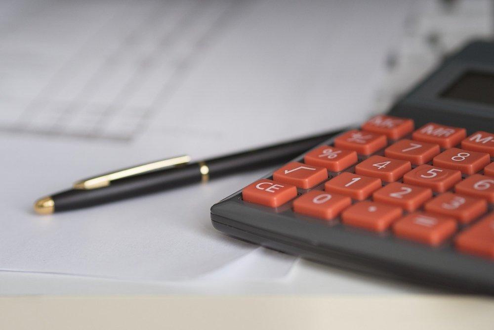 Una calculadora para realizar operaciones de contabilidad