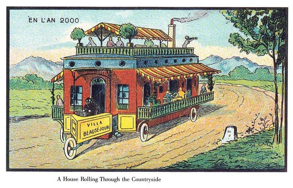 ¿Una caravana o un vagón restaurante?