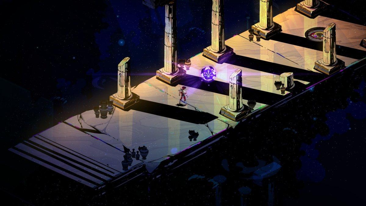Una escena del juego Hades