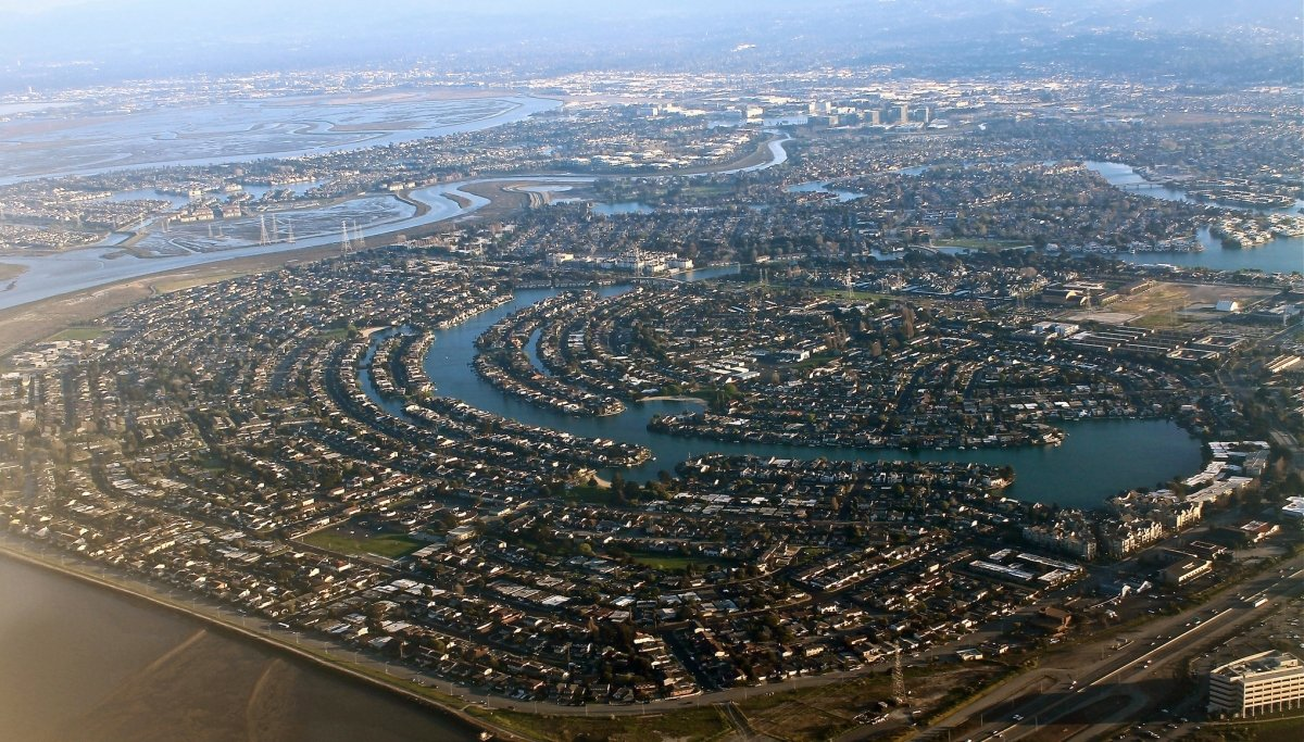 Una panorámica de Silicon Valley, en el Área de la Bahía de San Francisco