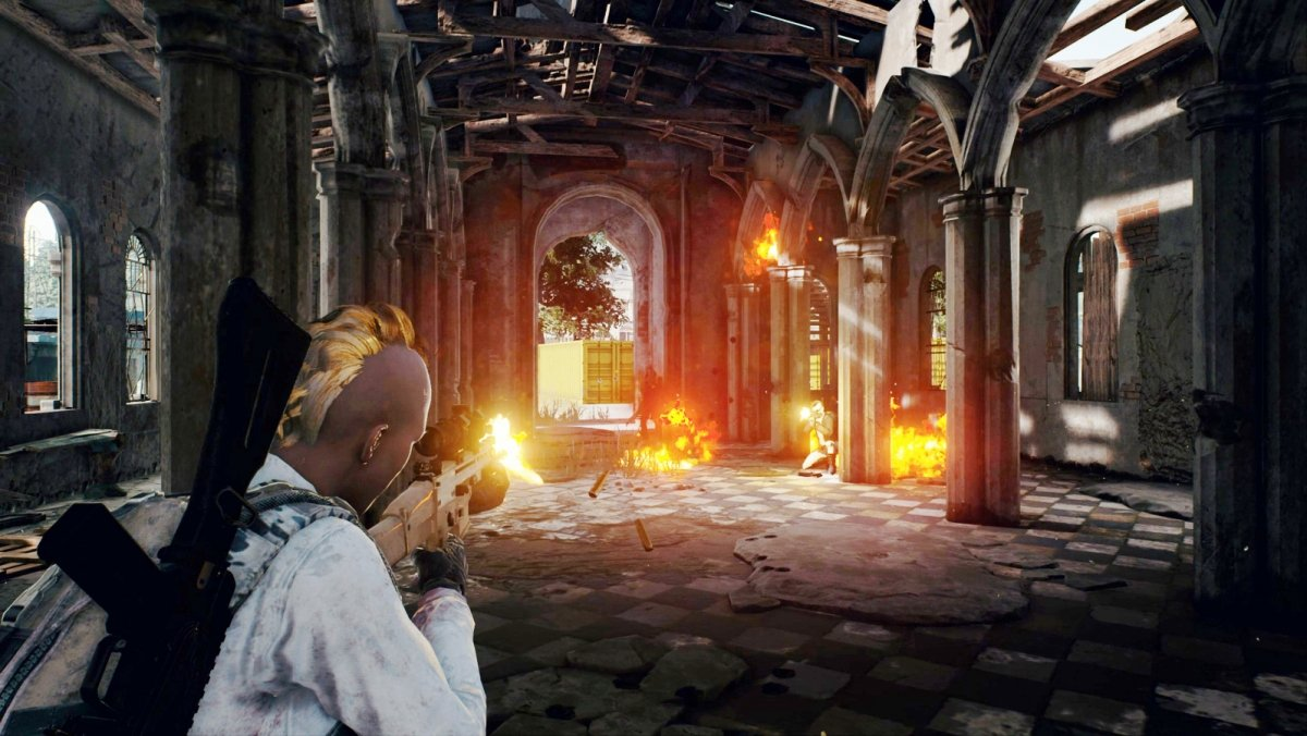 Una partida battle royale en PUBG para PC