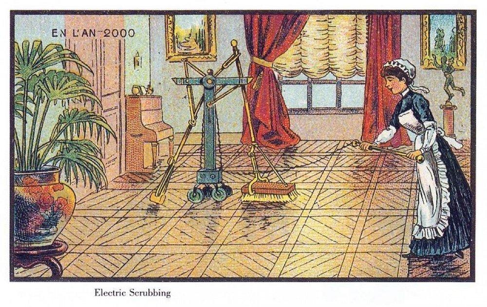 Una Roomba imaginada hace más de 100 años