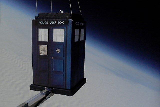 Una TARDIS con Raspberry Pi