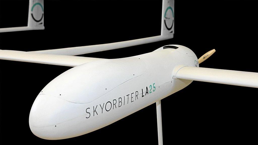 Uno de los últimos prototipos de Skyorbiter, pionera en este ámbito