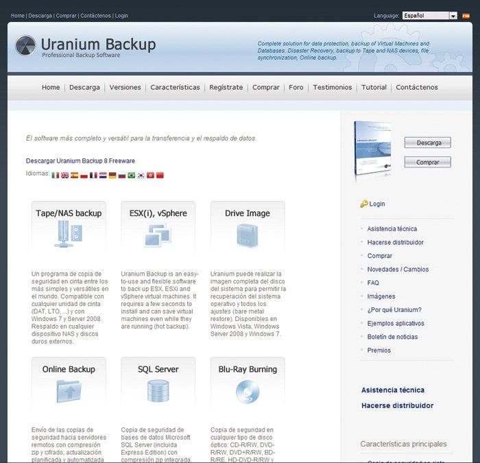 Uranium Backup 8 detalle 1