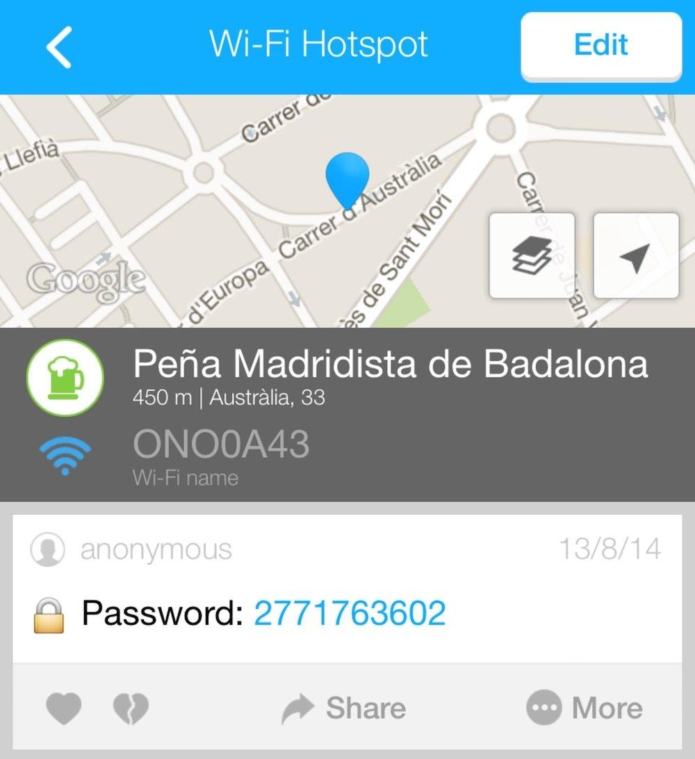 Usa aplicaciones que listan accesos a WiFi gratuitas y ahorra - imagen 2