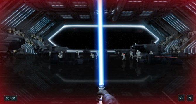 Usa tu smartphone para combatir Stormtroopers