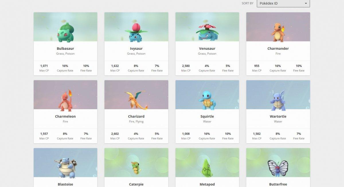 Vas a tener que buscar los Pokémon a pelo o con radares colaborativos