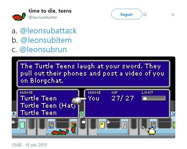 Vaya, parece ser que las tortugas han salido un poco burlonas