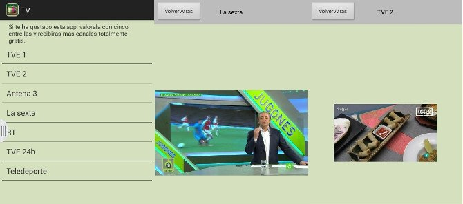 Ver TVE 1, TVE 2, Antena 3 o La Sexta en TV España