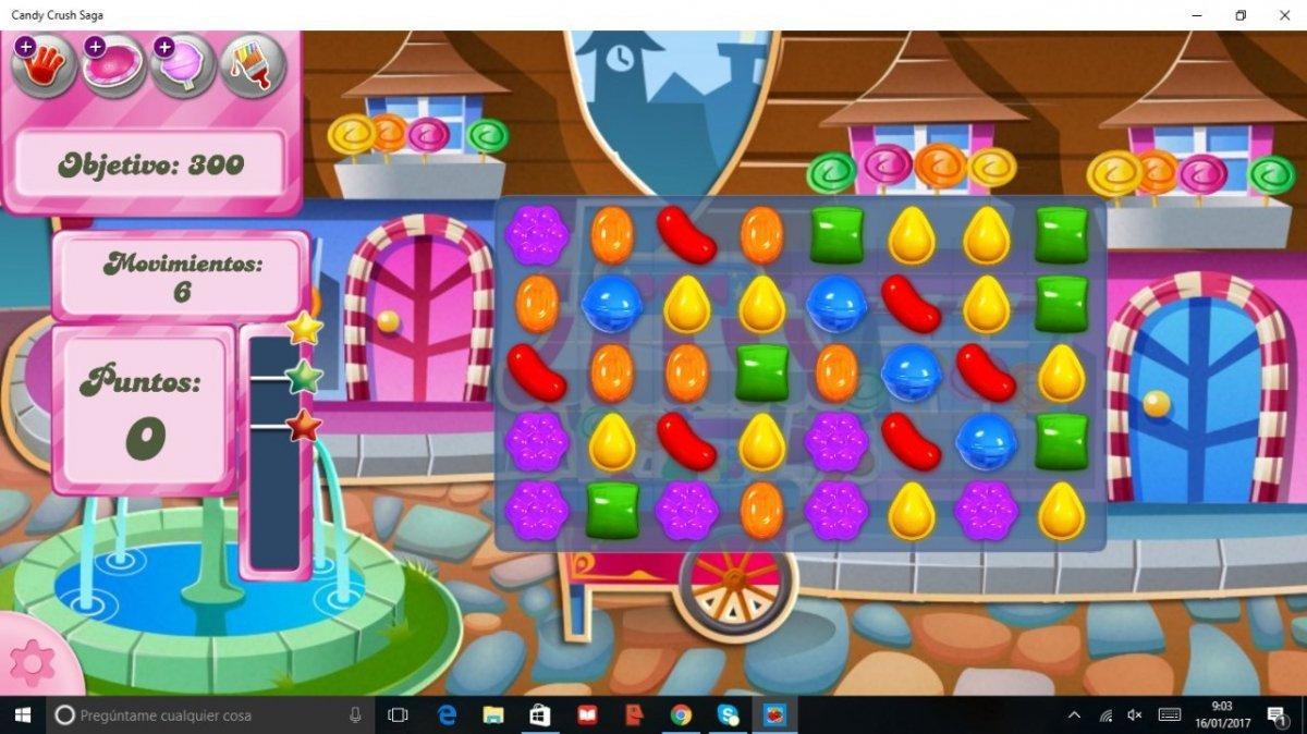 Versión de Candy Crush Saga para Windows 10