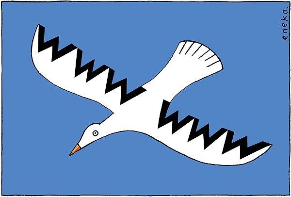 Viñeta del dibujante Eneko por un Internet libre