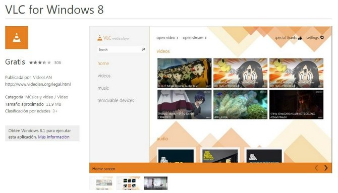 VLC se renueva para Windows 8.1 y se prepara para Windows 10 - imagen 2