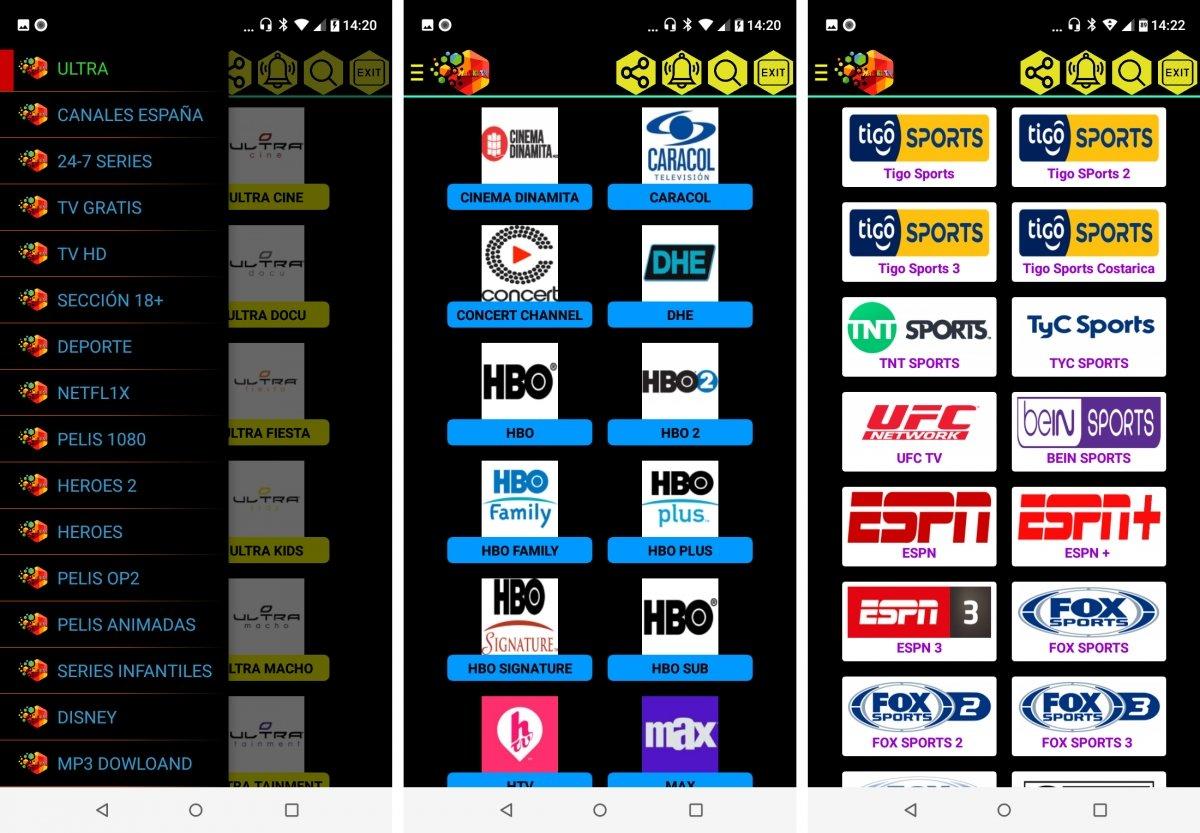 Waliki TV ofrece TV y deportes