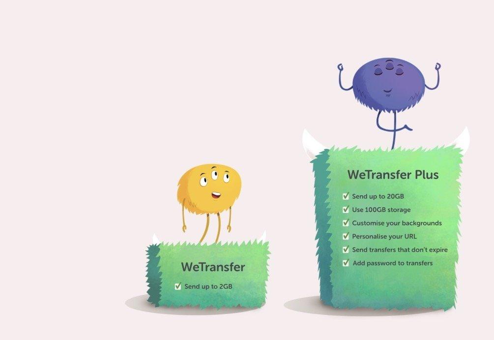 WeTransfer, uno de los más populares