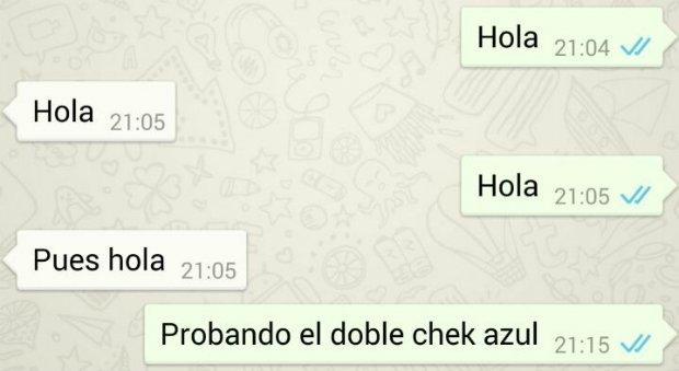 WhatsApp añade doble check azul para mensajes leídos en Android y iOS - imagen 2