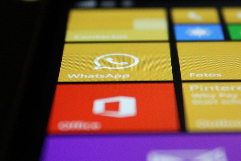 WhatsApp instalado en un Windows Phone