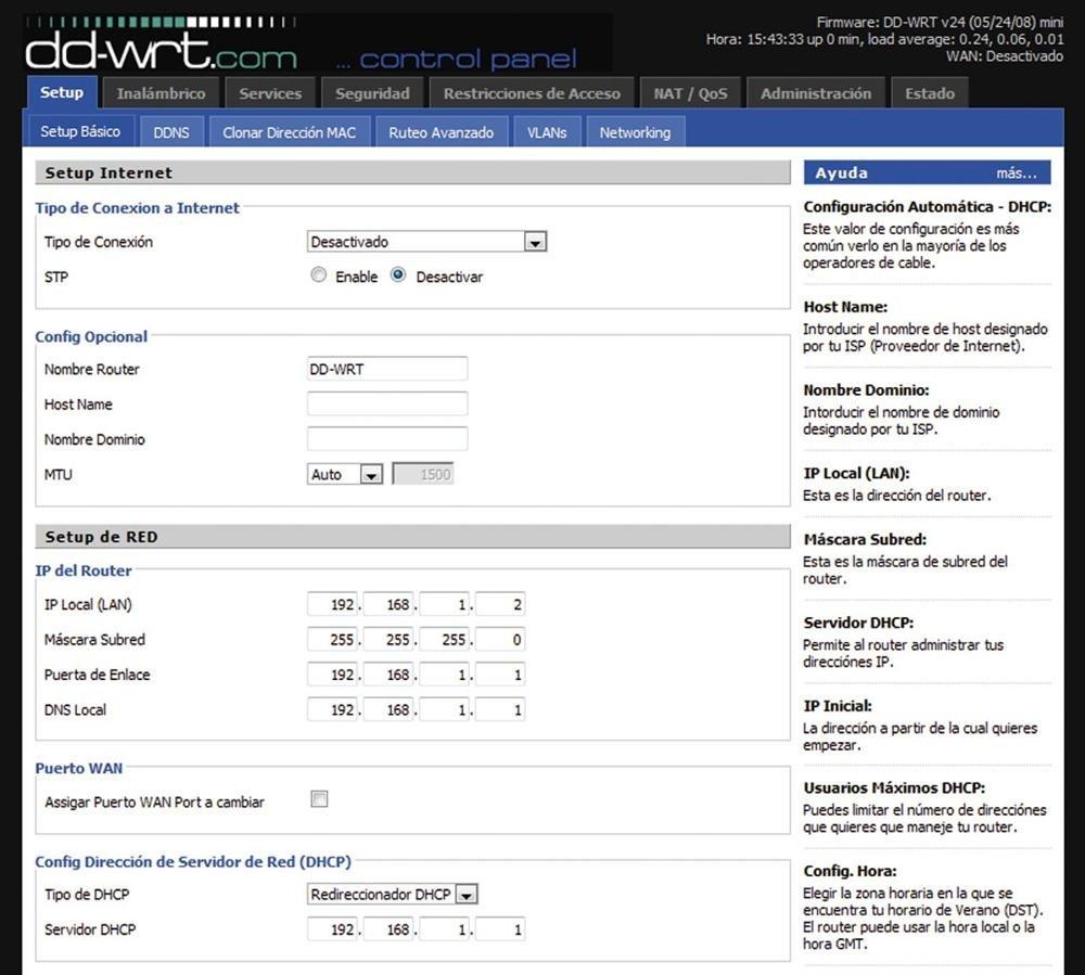 WiFi con WDS 2