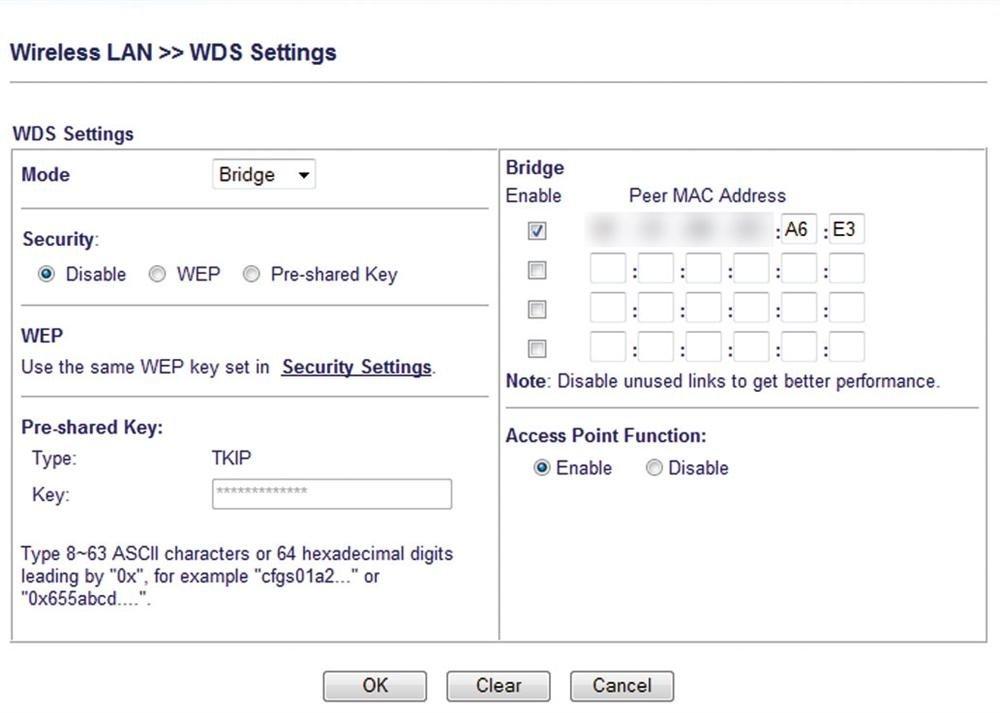 WiFi con WDS 4