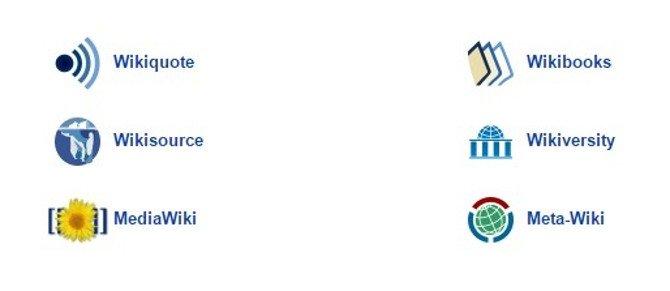 Wikiversity, Wikiquote, MediaWiki, Wikibooks