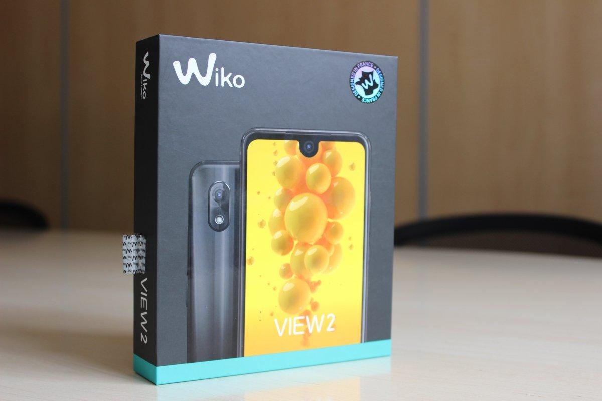 Wiko View 2 en su embalaje original