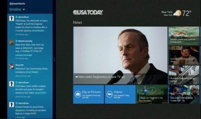 Otra captura de Metro en Windows 8