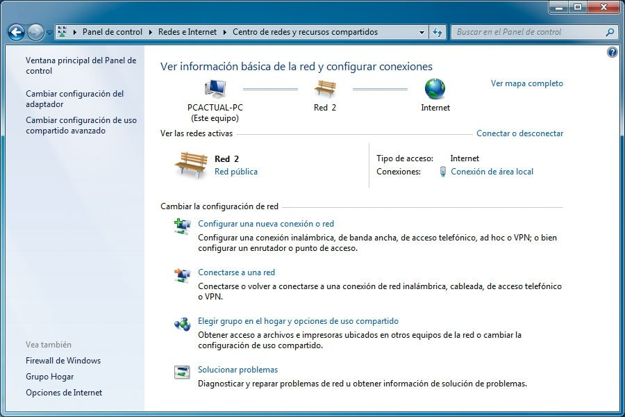 Windows 7 Redes 1