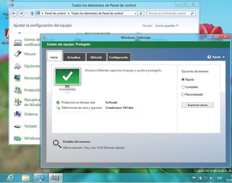 Windows 8. Antivirus