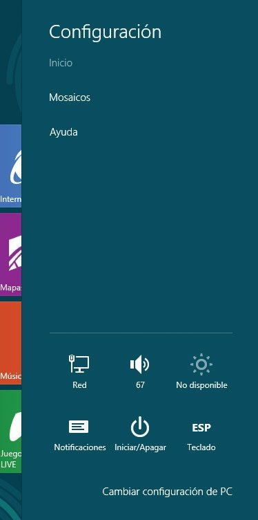 Windows 8. Apagar