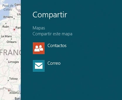 Windows 8 Compartir