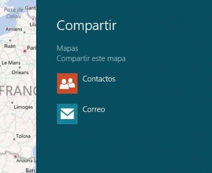 Windows 8 Compartir