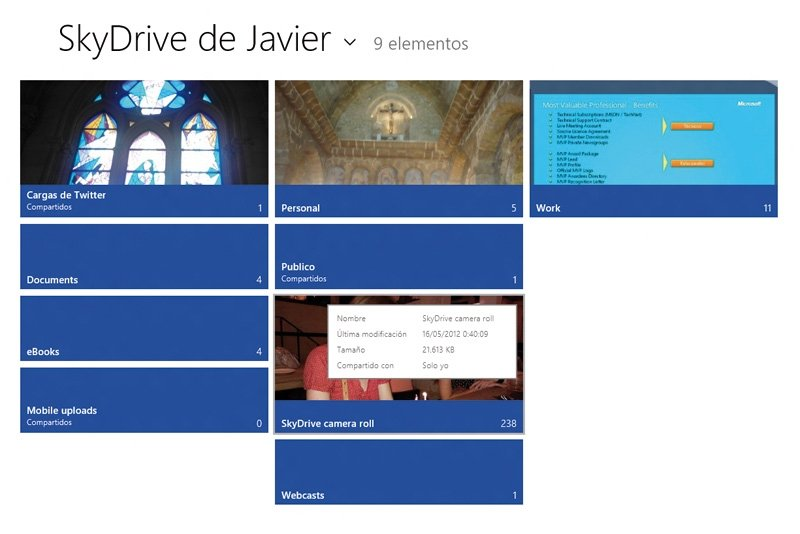 Windows 8 SkyDrive 1