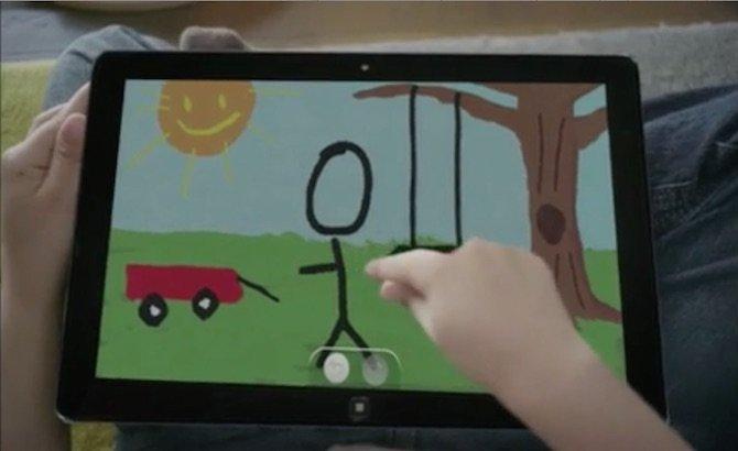 Tablet con Windows 8