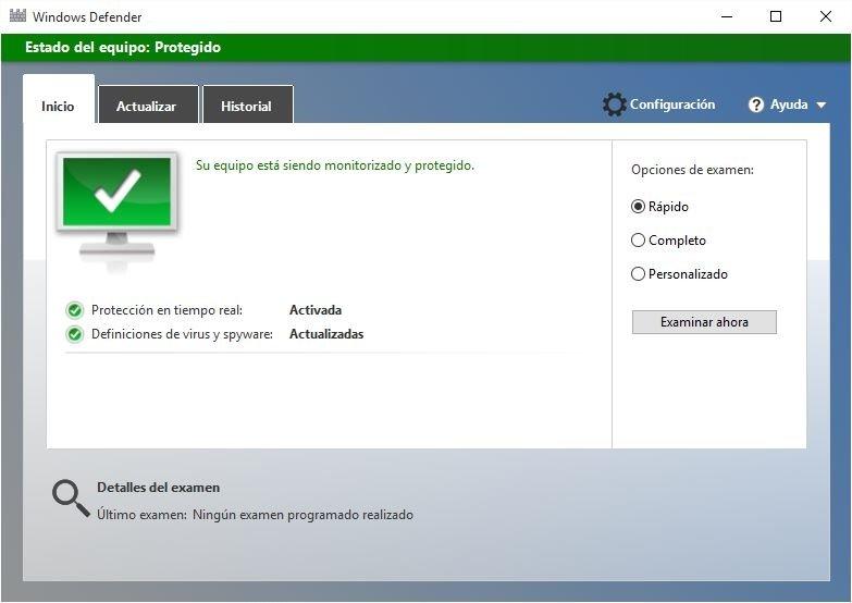 Windows Defender o cualquier otro antivirus es mejor tenerlos habilitados para mejorar la protección