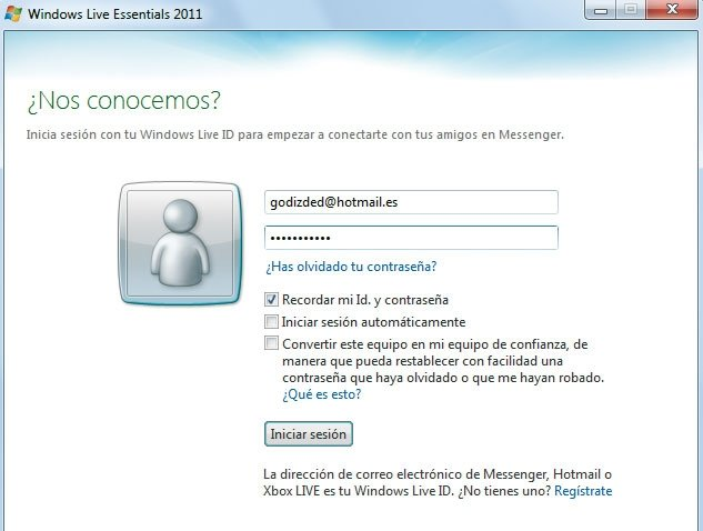 Windows Live Messenger práctico 2