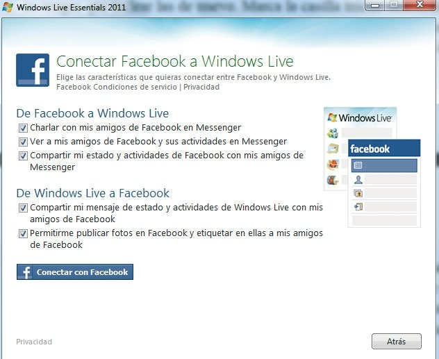 Windows Live Messenger práctico 3