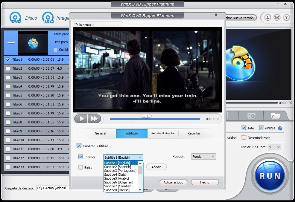 WinX DVD Ripper Platinum edit