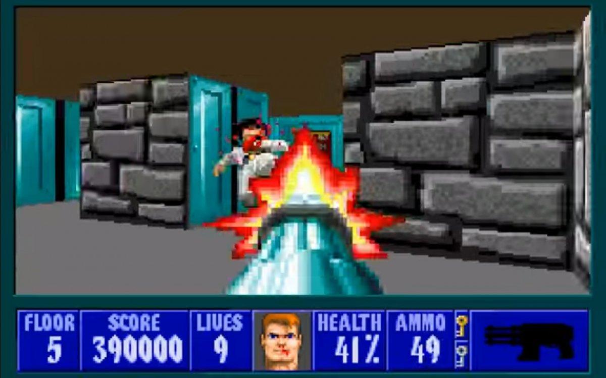 Wolfenstein 3D, Payroll en su versión
