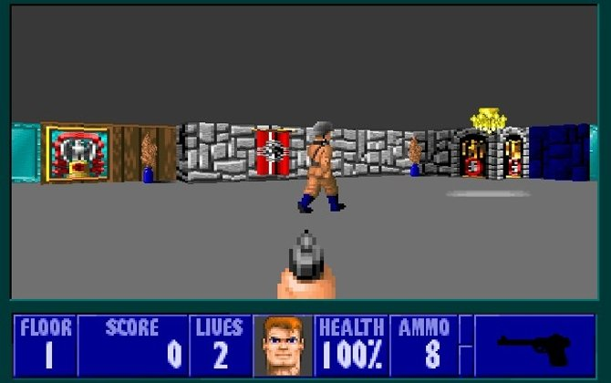 Wolfenstein 3D, shooter de 1992